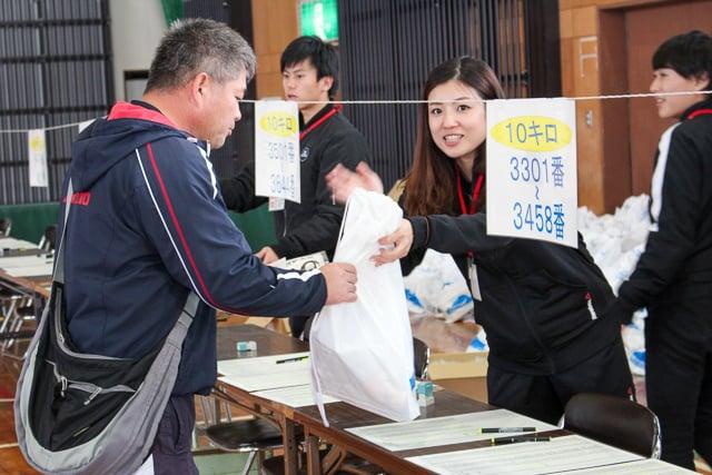 ランニング桜島大会 ボランティアスタッフ